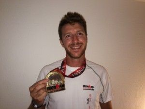 David Baldoví, finisher en Ironman Frankfurt 2015
